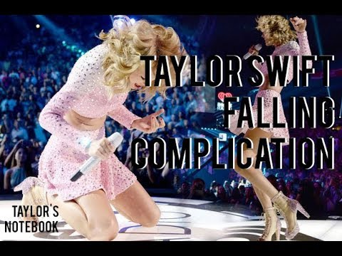 Taylor Swift Falling Complication