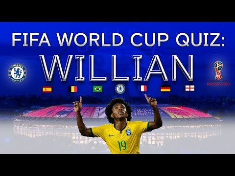 FIFA World Cup 2018 Quiz: Willian wants to face England!