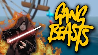 RIP HIS NIPPLE OFF! | Gang Beasts (Funny Moments)