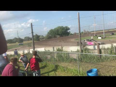 Lincoln County Raceway 7-6-2018 hot laps compact