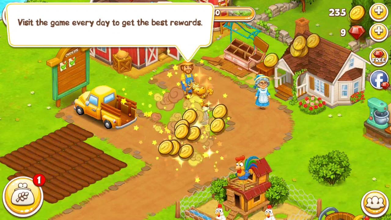 تنزيل لعبة المزرعة السعيدة بدون نت