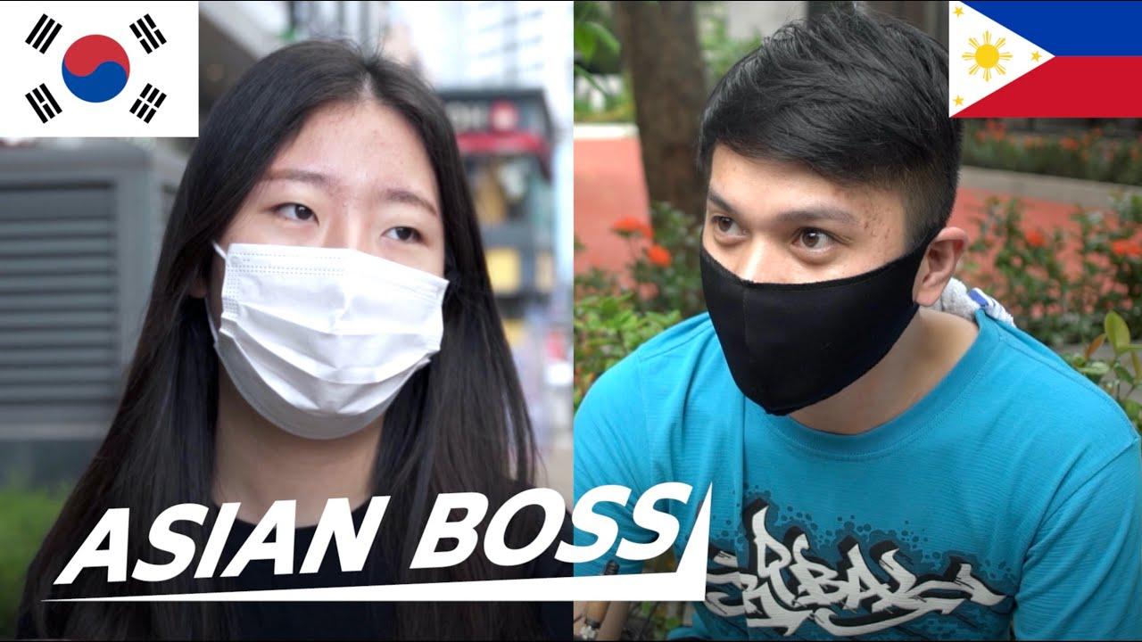 Koreans and Filipinos Discuss the #CancelKorea Movement   STREET DEBATE