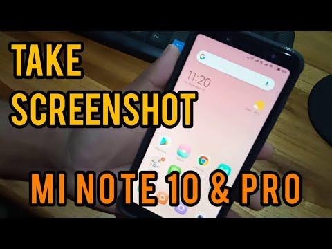 how to screenshot note 10