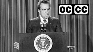 1968 - Nixon campaign ad - The First Civil Right - closed captioned