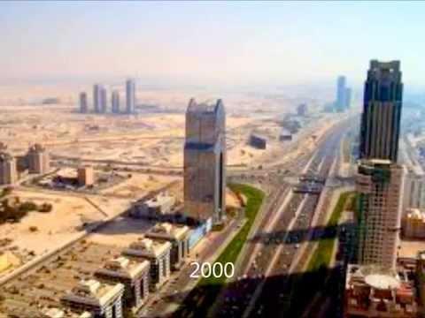 Dubai Timelapse 1930 - 2012