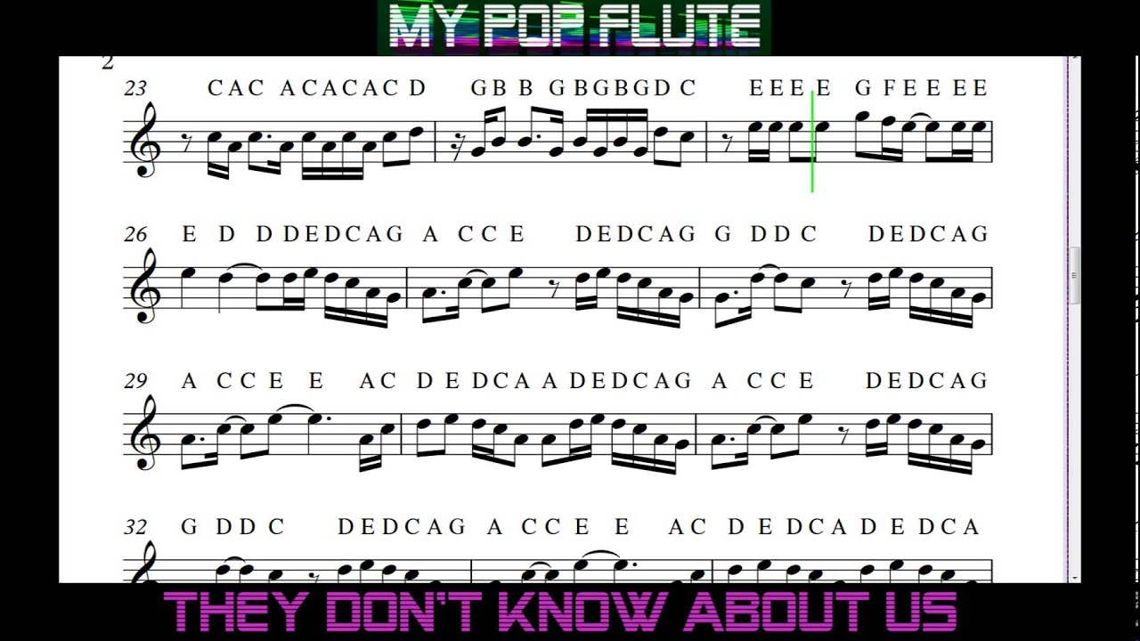 they dont know about us one direction free sheet music flute they dont know about us one direction free sheet music flute notes hexwebz Images