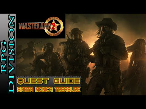 Wasteland 2 - Santa Monica Buried Treasure Location