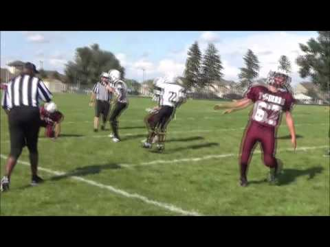 Fort Carson Eagles vs Cheyenne Mountain 8th grade 2016