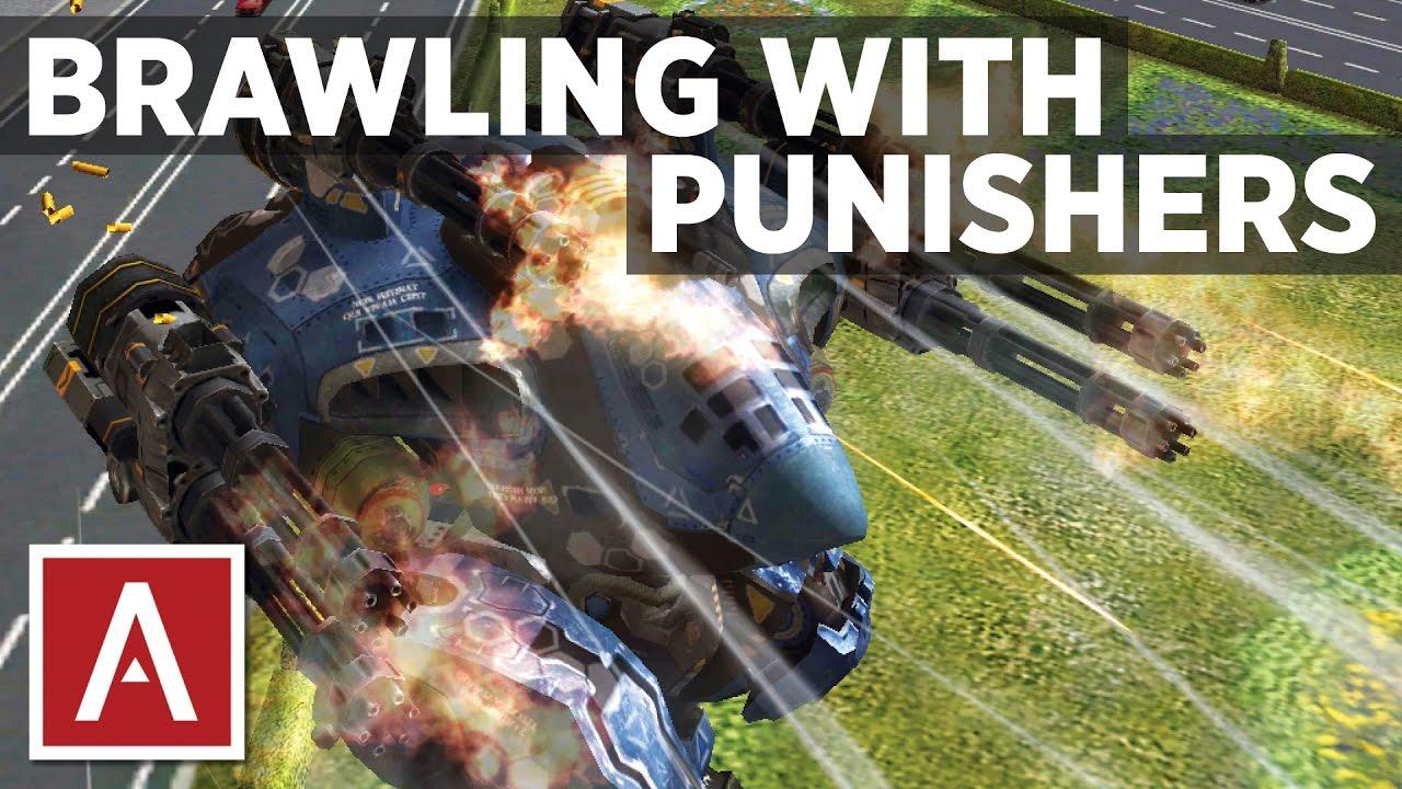 War Robots [WR] - Brawling With Punisher Guns (Punisher ...