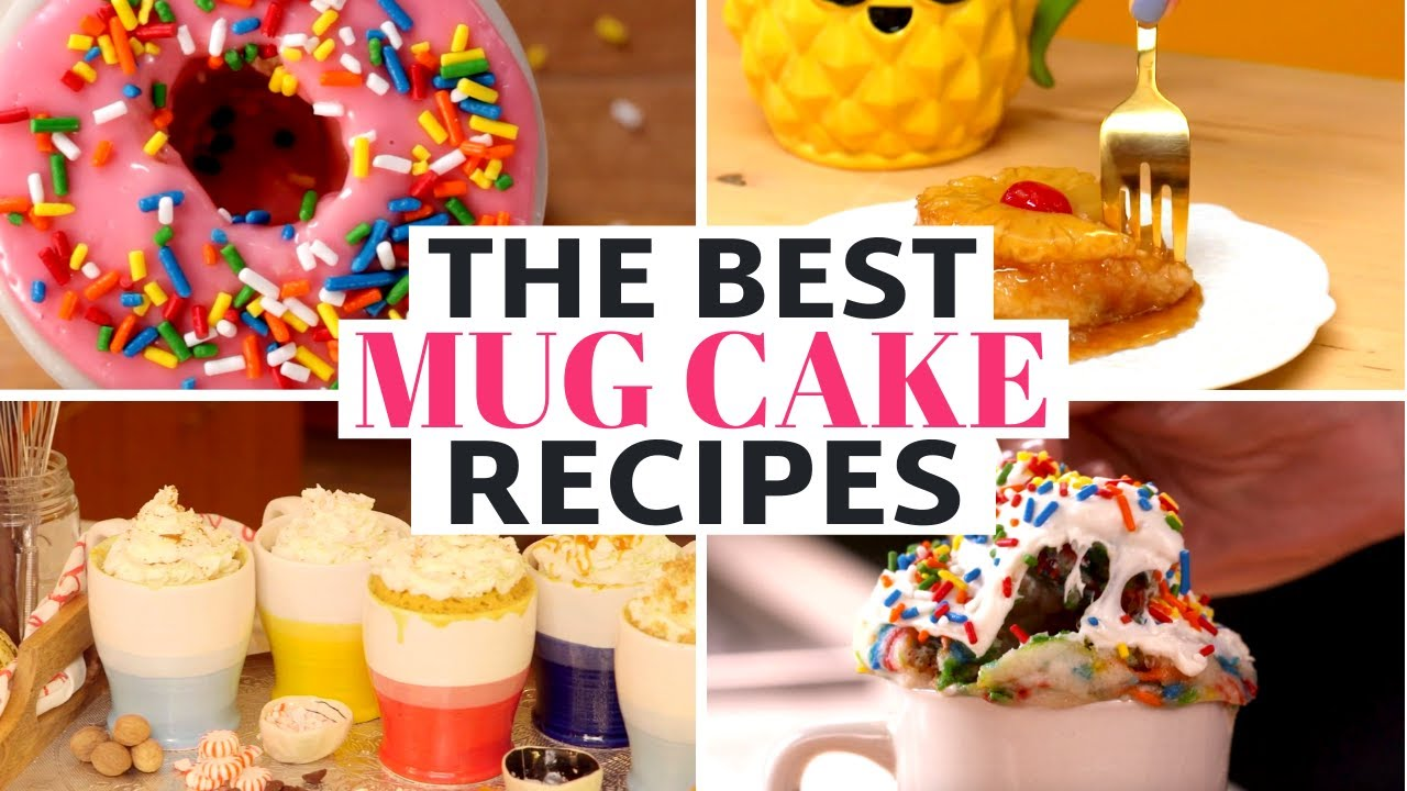 8 Easy Mug Cake Recipes: Pumpkin Spice, Nutella & Donut