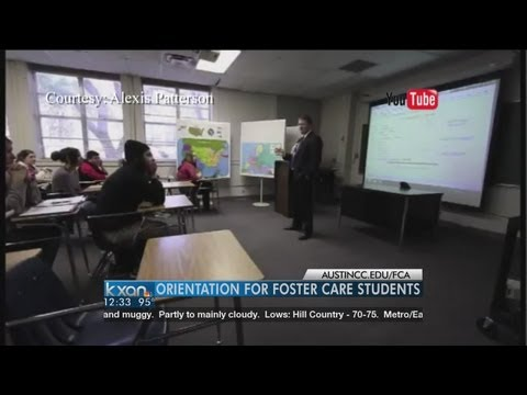 Orientation for foster care students