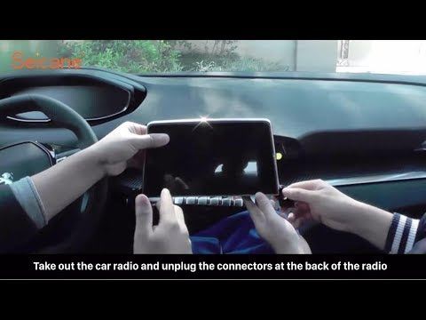 How to install the GPS Module Receiver in your Peugeot 4008 Car Radio