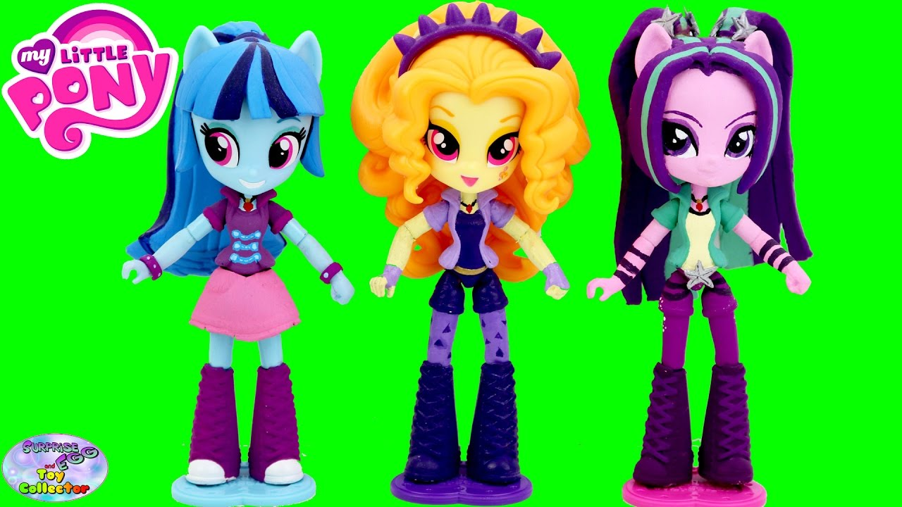 My Little Pony Equestria Girls Minis The Dazzlings Cubeez Cubes My Pony Equestria Rainbow Rocks Coloring Pages Dazzlings Printable