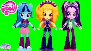 My Little Pony Equestria Girls Minis The Dazzlings Cubeez Cubes Surprise Egg and Toy Collector SETC