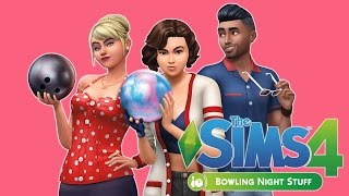 The Sims 4: Bowling Night Stuff | First Look Livestream |