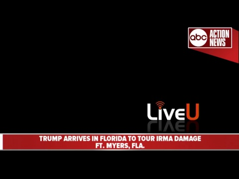 WATCH LIVE | President Trump visits Florida after Hurricane Irma