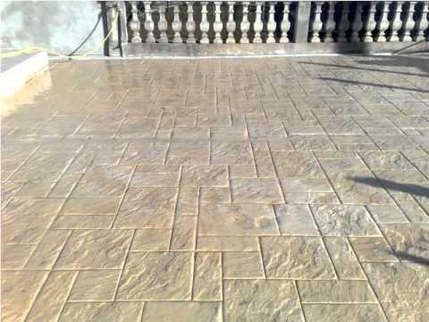Art Beton Štampani art beton 2 _1.avi - youtube