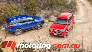 Holden Trailblazer v Toyota Fortuner