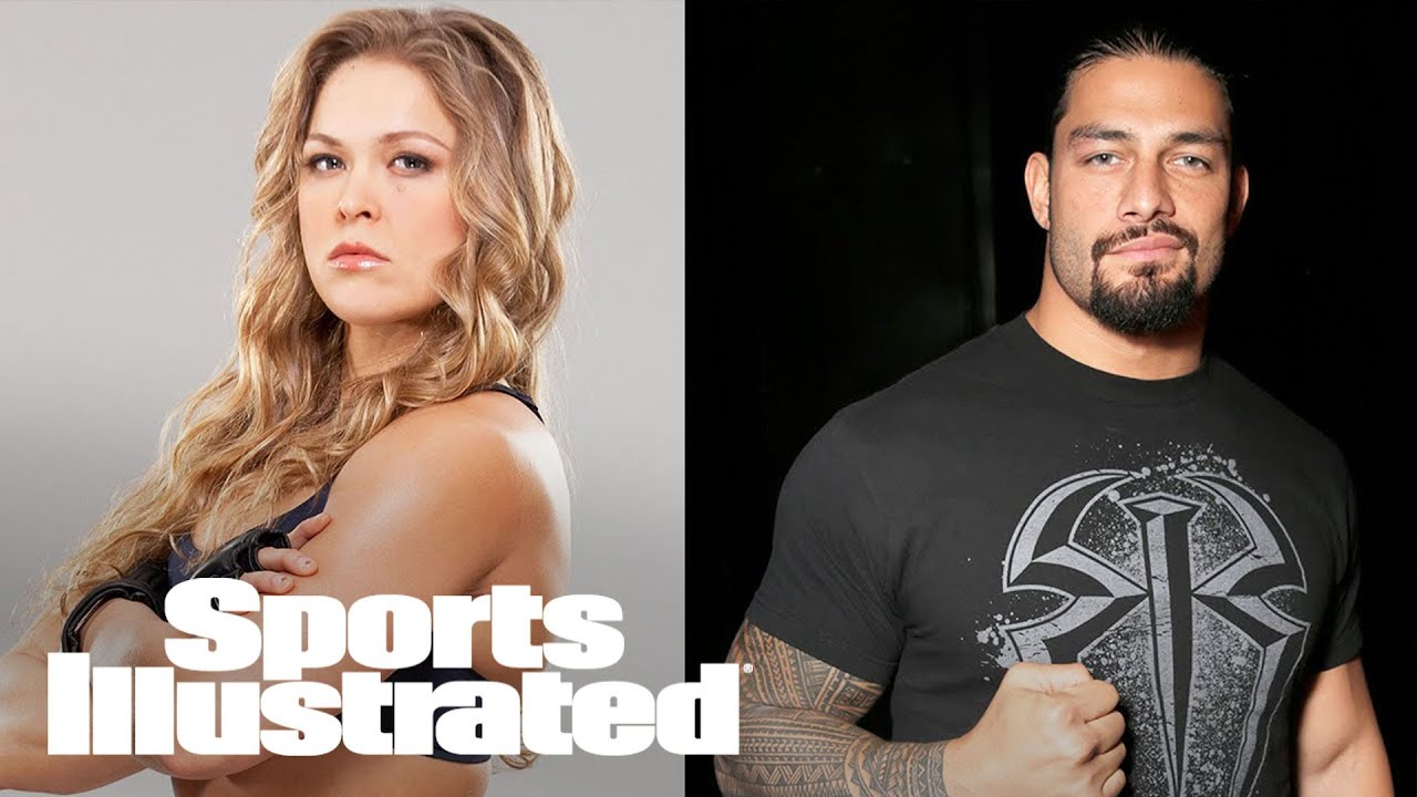 Ronda Rousey interviews WWE's Roman Reigns about WrestleMania | SI NOW ...