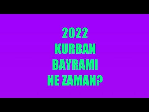 Kurban Bayramı Ne Zaman? 2022 - Kurban Bayramı Tarihi