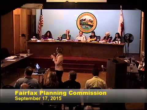 Fairfax Planning Commission Sept. 17, 2015