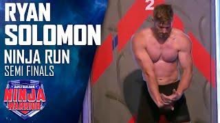 Semi-final Run: Ryan Solomon | Australian Ninja Warrior 2017 thumbnail