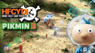 How fast can you die in... Pikmin 3?