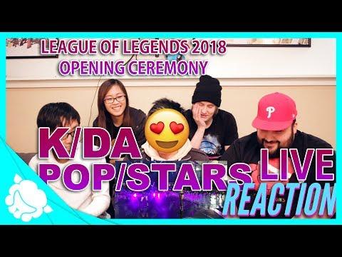 K/DA: POP/STARS Opening Ceremony: REACTION - League of Legends 2018 World Championship