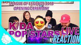 K/DA: POP/STARS Opening Ceremony: REACTION - League of Legends 2018 World Championship