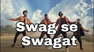 Swag se swagat | tiger zinda hai | dance choreography | Salman khan & Katrina kaif | by shubhupahuja