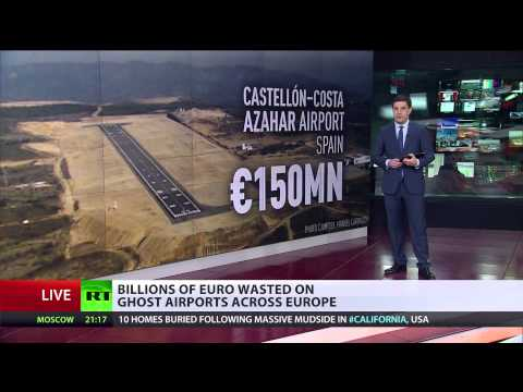No passengers, no planes: 'Ghost' airports of Europe