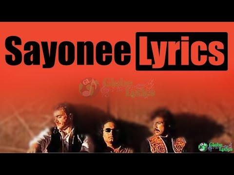 Sayonee Chain Ek Pal Nahi | Lyrics | Junoon | HD Video | Globe Lyrics | GL