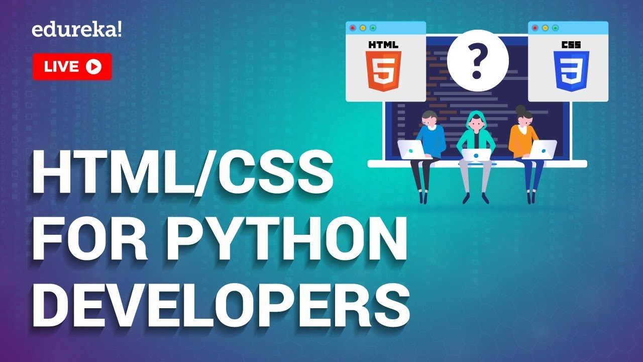 HTML & CSS For Python Developers | Python for Web Development | Python Training