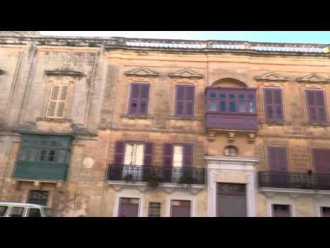 (HD) Valletta Station Malta 7th January 2014