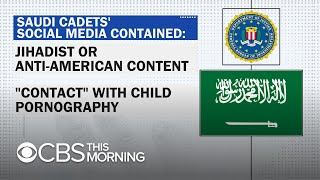 Saudi military students removed from U.S. for alleged extremist content, child porn