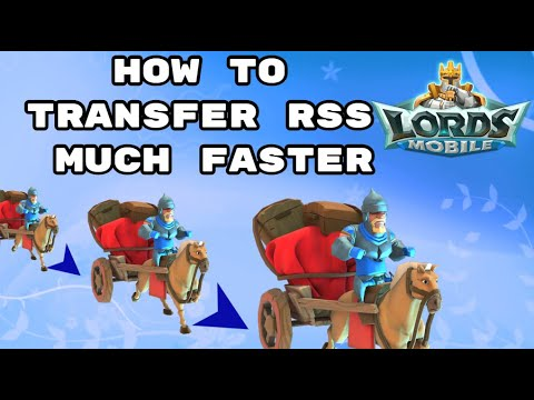 Lords Mobile - How To Send RSS Much Faster