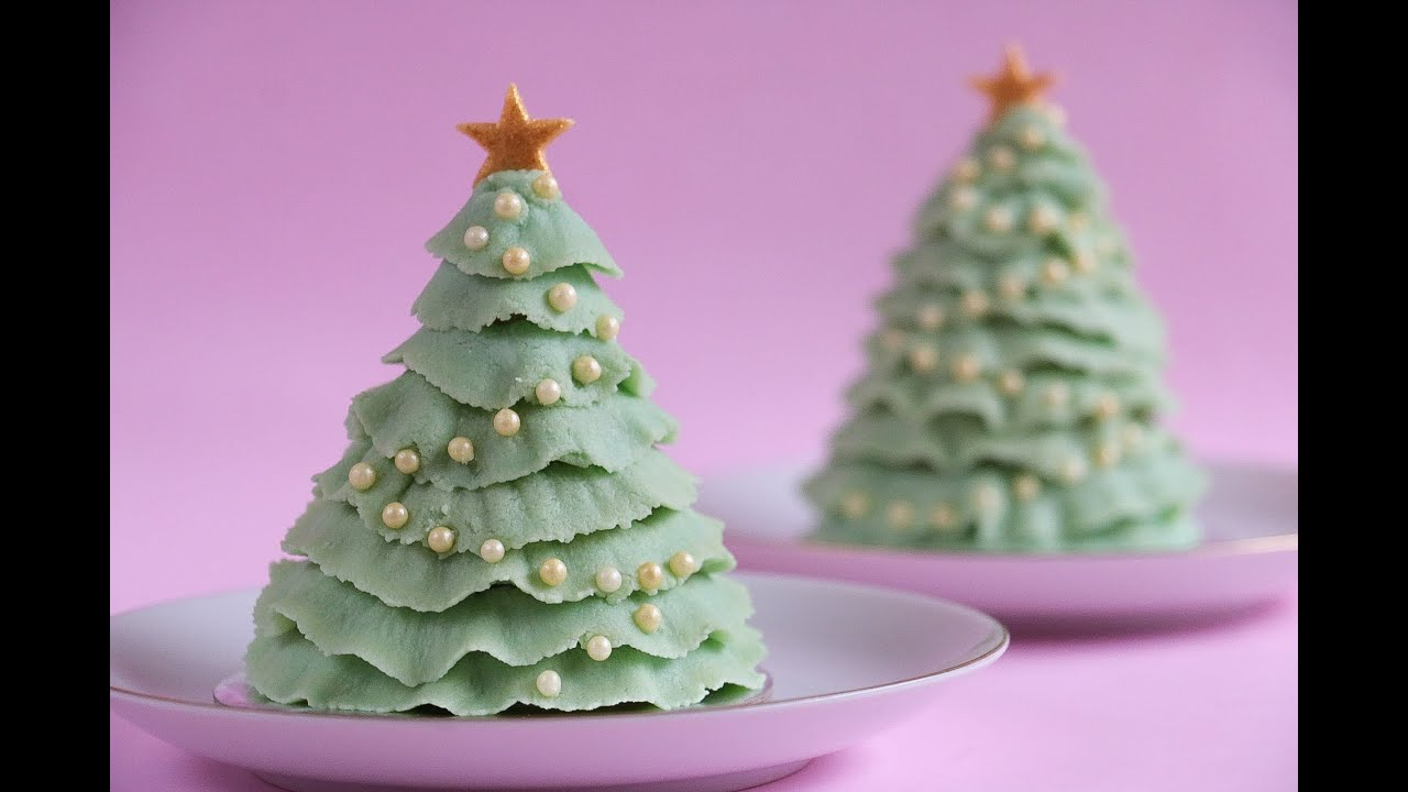 Christmas Tree Cake Pop- Rosie's Dessert Spot