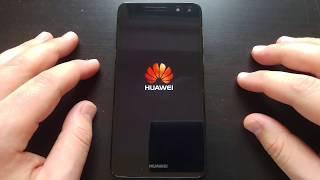 HUAWEI Y6 2017 STARTING UP AND SHUTDOWN
