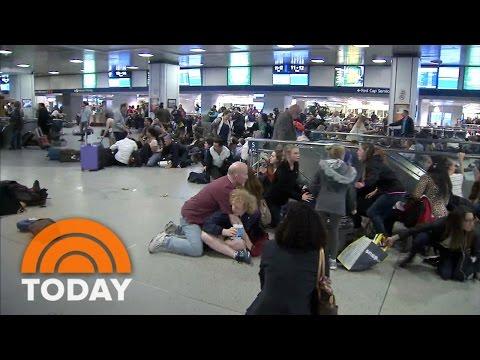 Panic Erupts At New York's Penn Station When Commuters Mistake Taser For Gunshots | TODAY