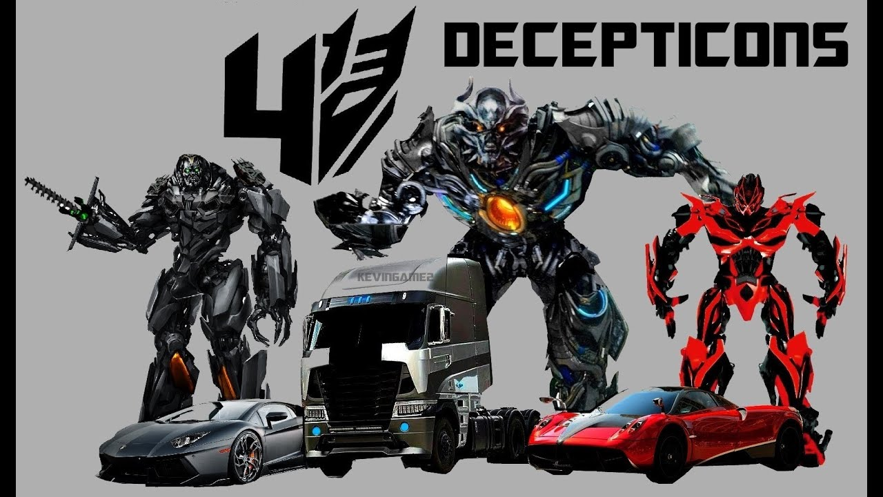 Transformers  Age of Extinction Decepticons and Autobot Concept