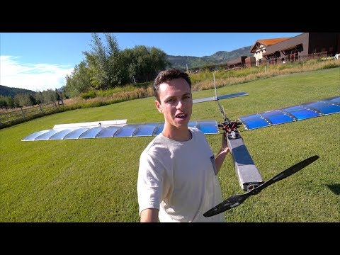 Solar Plane V3 Cruise Testing - RCTESTFLIGHT