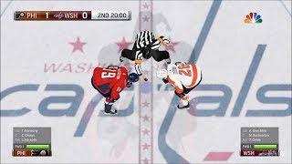 NHL 18 - Washington Capitals vs Philadelphia Flyers - Gameplay (HD) [1080p60FPS]