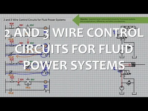 6.7 2 and 3 Wire Control Circuits for Fluid Power Systems ...  Wire Control Schematic on
