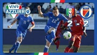 Italia-Haiti 2-2 (11 giugno 2013)