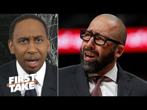 Stephen A.: The Knicks threw David Fizdale under the bus & they didnt even fire him!   First Take
