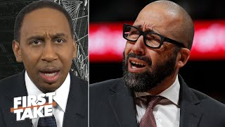 Stephen A.: The Knicks threw David Fizdale under the bus & they didn't even fire him! | First Take