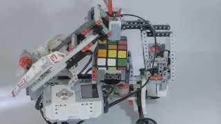 Мой робот собирает Кубик Рубика - LEGO MINDSTORMS EV 3