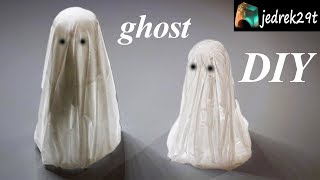 DIY. Halloween Ghosts from Resin