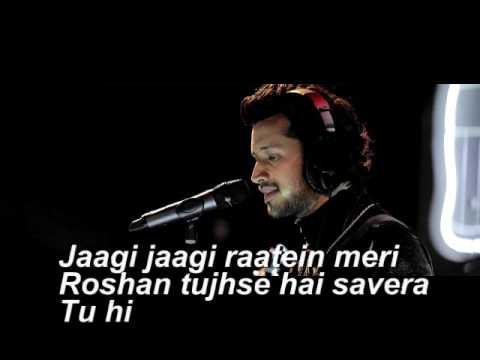 Atif Aslam New Song Musafir With Lyrics