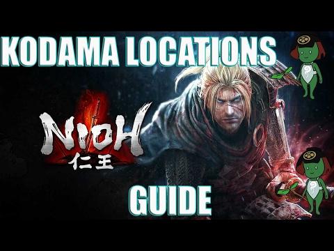 Nioh The Silver Mine Writhes Kodama Locations